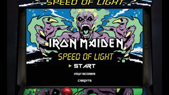 Iron Maiden - Speed Of Light Game